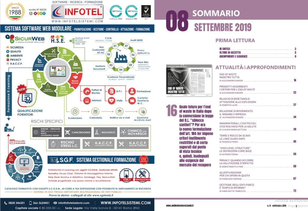 Infografica di SICURWEB RSPP/HSE