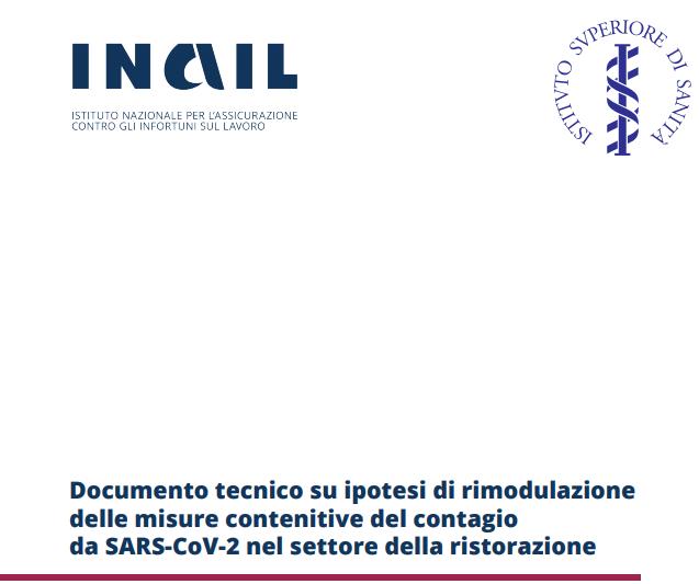 Documento tecnico INAIL su ipotesi di rimodulazione delle misure contenitive
